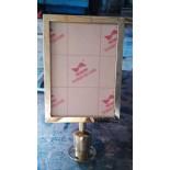 sign frame